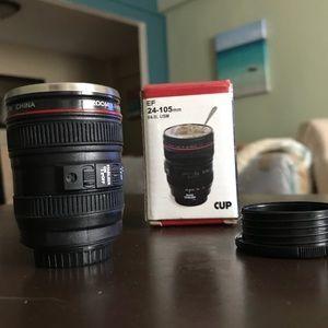 Other - Camera Lena Shot Glass - NEW!